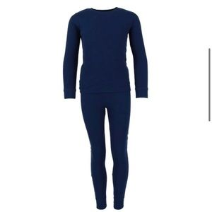 Only Accessories - NEW! Waffle Thermal Boys Navy Long Underwear Set